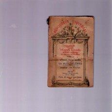Libros antiguos: BIBLIOTECA UNIVERSAL Nº 95 - LA MUSA HELÉNICA - EDITORIAL PERLADO - 1923 - SIN LEER. Lote 41162418