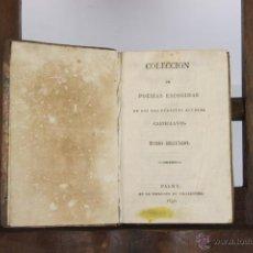 Libros antiguos: D-082. COLECCION DE POESIAS ESCOGIDAS. VV.AA. IMP. VILLALONGA. 1930. . Lote 41801411