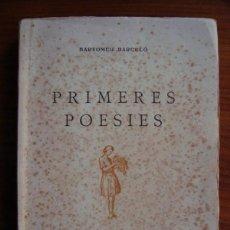 Libros antiguos: BARTOMEU BARCELO: PRIMERES POESIES. SÓLLER, MALLORCA, 1921.. Lote 42944303