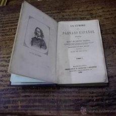 Libros antiguos: 3183.-POESIAS DE FRANCISCO DE QUEVEDO VILLEGAS-LA CUMBRE DEL PARNASO ESPAÑOL. Lote 43230527