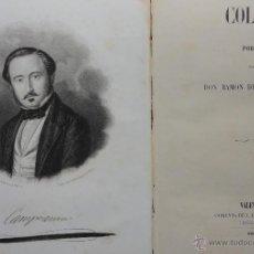 Libros antiguos: COLÓN. POEMA POR DON RAMÓN DE CAMPOAMOR. VALENCIA 1853. Lote 44014231