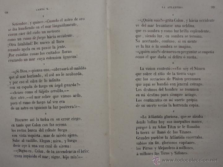 Libros antiguos: COLÓN. POEMA POR DON RAMÓN DE CAMPOAMOR. VALENCIA 1853 - Foto 3 - 44014231