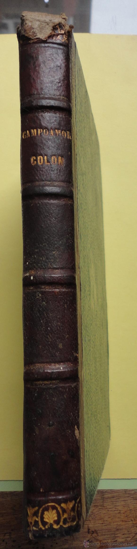 Libros antiguos: COLÓN. POEMA POR DON RAMÓN DE CAMPOAMOR. VALENCIA 1853 - Foto 4 - 44014231