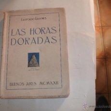 Libros antiguos: LEOPOLDO LUGONES -. Lote 44049136