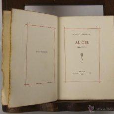 Libros antiguos: 5291- AL CEL. OBRA POSTUMA DE JACINTO VERDAGUER. GRAF. J. THOMAS. 1905. . Lote 45531433