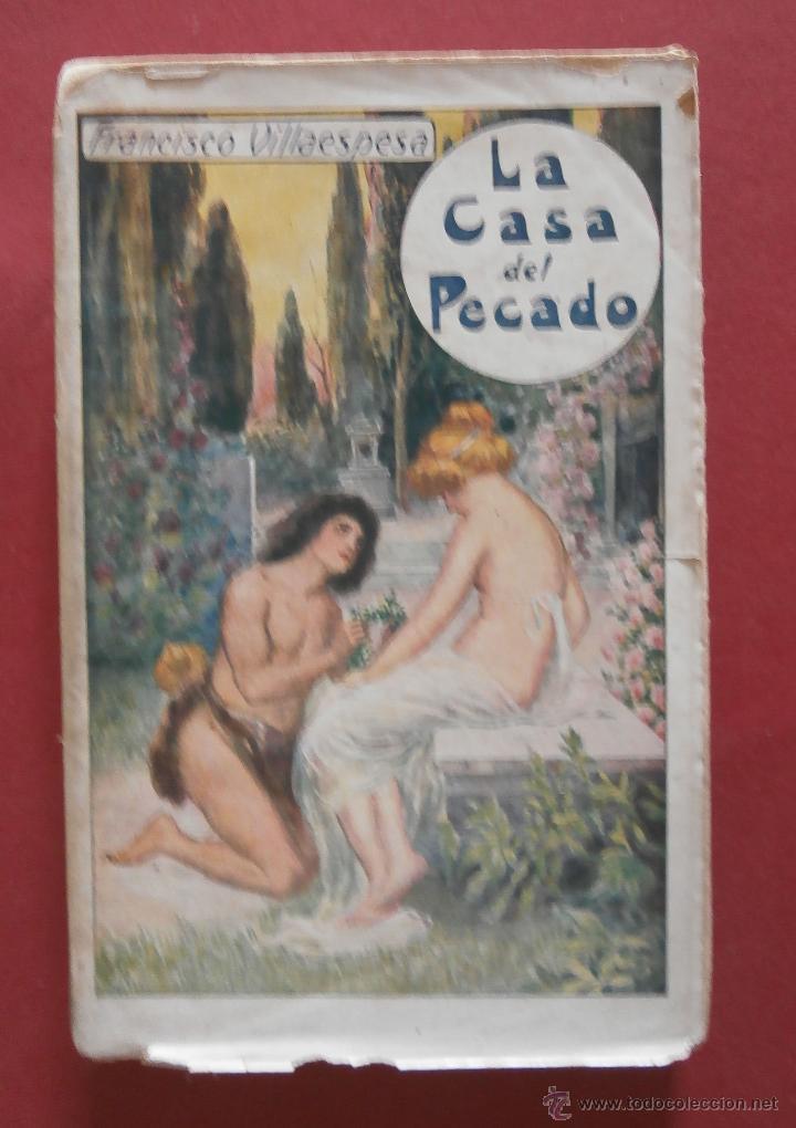 LA CASA DEL PECADO. FRANCISCO VILLAESPESA (Libros antiguos (hasta 1936), raros y curiosos - Literatura - Poesía)
