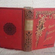 Libros antiguos: OBRAS POÉTICAS DE D. JOSÉ ANTONIO CALCAÑO. Lote 46730452