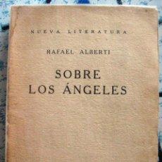 Libros antiguos: RAFAEL ALBERTI. SOBRE LOS ÁNGELES. 1929. Lote 46833415