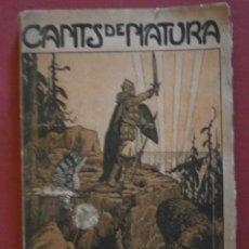 Libros antiguos: CANTS DE NATURA. JOSEP MACIÀ. Lote 46895180