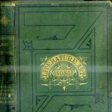 Libros antiguos: LITERATURE, ART AND SONG : MOORE'S MELODIES AND AMERICAN POEMS (NEW YORK, 1872) MUY ILUSTRADO. Lote 46906392