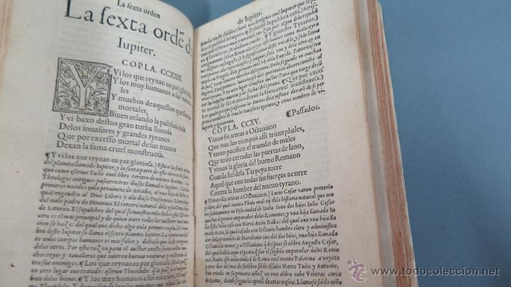 Libros antiguos: 1552.- TODAS LAS OBRAS DEL FAMOSISSIMO POETA IUAN DE MENA: con la glosa del comendador Fernan Nuñez - Foto 4 - 47415298