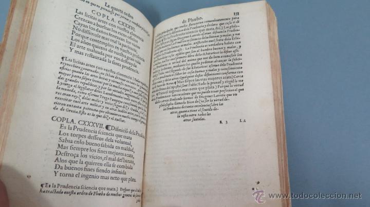 Libros antiguos: 1552.- TODAS LAS OBRAS DEL FAMOSISSIMO POETA IUAN DE MENA: con la glosa del comendador Fernan Nuñez - Foto 5 - 47415298