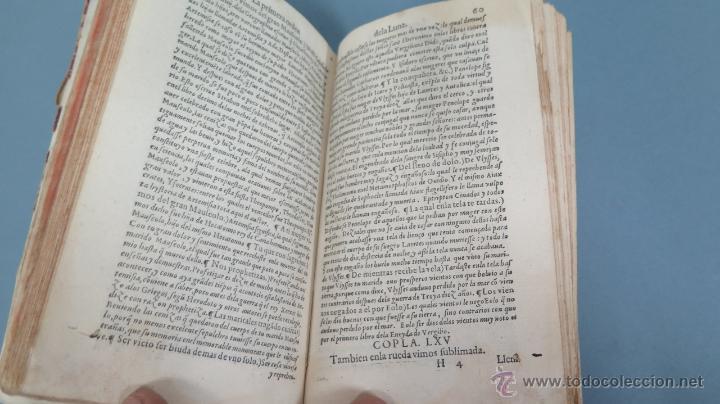 Libros antiguos: 1552.- TODAS LAS OBRAS DEL FAMOSISSIMO POETA IUAN DE MENA: con la glosa del comendador Fernan Nuñez - Foto 6 - 47415298