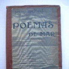 Alte Bücher - POEMAS DE MAR, APELES MESTRE. - 48310506