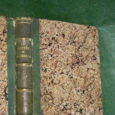 Libros antiguos: LO GAYTER DE LLOBREGAT - POESIAS DE JOAQUIM RUBIO Y ORS, LIB.JOSEPH RUBIO 1858 2A EDICION. Lote 48656233