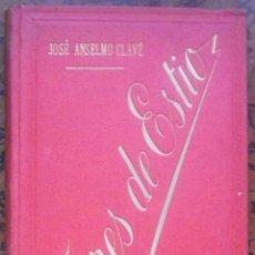 Libros antiguos: FLORES DE ESTIO – POESIAS DE JOSÉ ANSELMO CLAVÉ – 1893. Lote 48657810