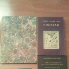 Libros antiguos: FEDERICO GARCÍA LORCA : CUATRO TÍTULOS. Lote 48691190