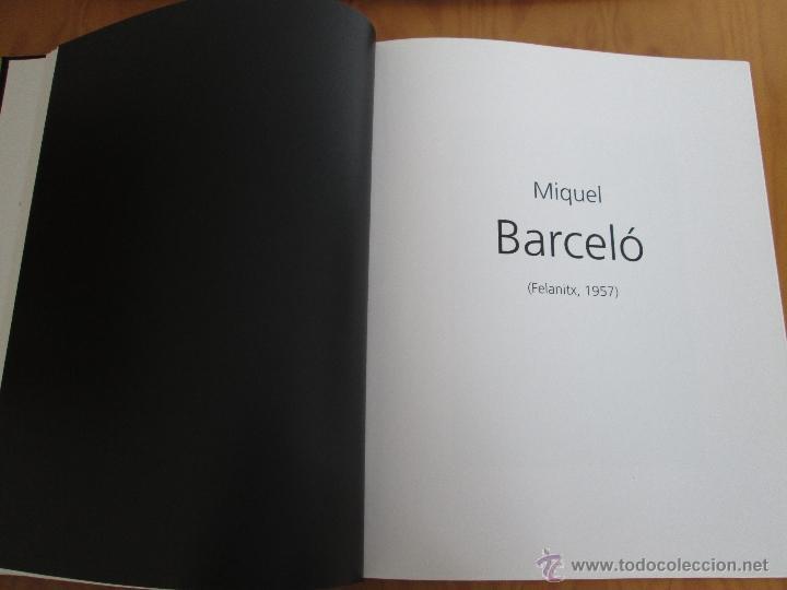 Libros antiguos: MESTRE COLECCION. PINTURA. E.D. CXRTGDY. MIGUEL BARCELO,JOAN MIRO,PICASSO..... - Foto 6 - 49034352