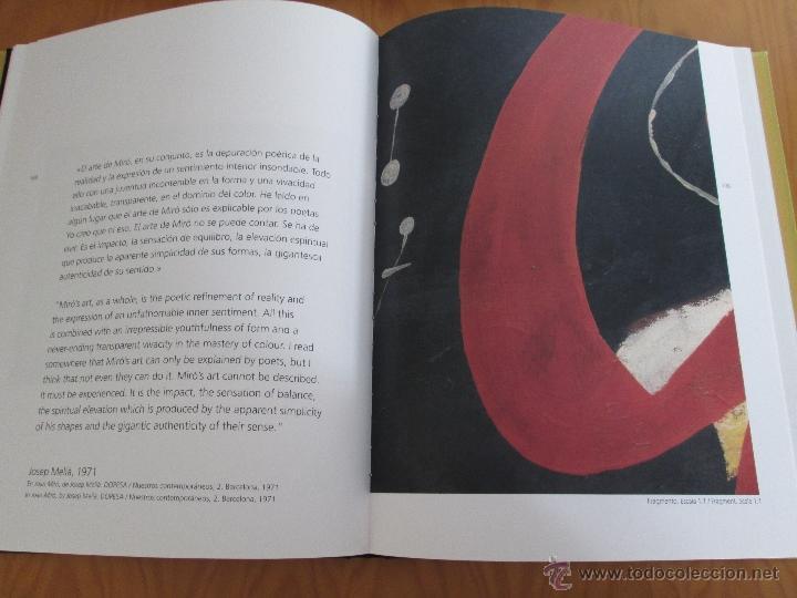 Libros antiguos: MESTRE COLECCION. PINTURA. E.D. CXRTGDY. MIGUEL BARCELO,JOAN MIRO,PICASSO..... - Foto 13 - 49034352