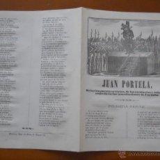 Libros antiguos: JUAN PORTELA, RELACIÓN PUESTA EN TROVOS DE LOS ASESINATOS Y ROBOS CÓRDOBA, IMPRENTA DE ROCA MANRESA. Lote 49137931