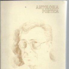 Libros antiguos: ANTOLOGÍA POÉTICA, MANUEL BENITEZ CARRASCO, EDITA CLUB DE LEONES SEVILLA 1986, DEDICATORIA AUTOR. Lote 49236195