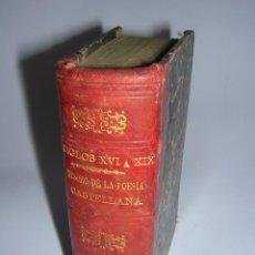 Libros antiguos: 1875 - TESORO DE LA POESIA CASTELLANA - 4 TOMOS EN UN VOL. - BIBLIOTECA UNIVERSAL. Lote 56387660