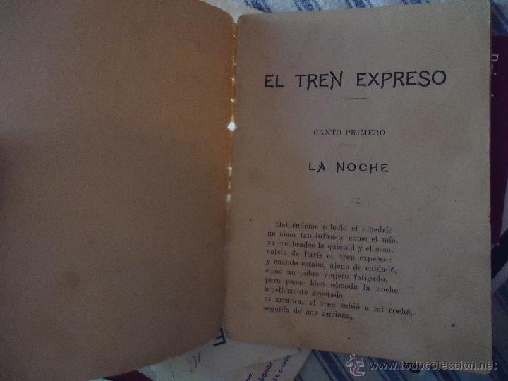 Libros antiguos: DEDICATORIA INGENIERO DE CAMINOS DON JOSE DE ECHEGARAY , CANTO POESIA 30 PAGINAS - Foto 3 - 49950698