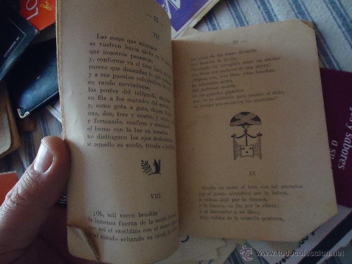 Libros antiguos: DEDICATORIA INGENIERO DE CAMINOS DON JOSE DE ECHEGARAY , CANTO POESIA 30 PAGINAS - Foto 4 - 49950698