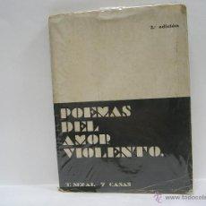 Libros antiguos: TOMÁS SERAL Y CASAS. POEMAS DEL AMOR VIOLENTO. 1923. Lote 49990674