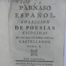 Libros antiguos: PARNASO ESPAÑOL. Lote 50644116
