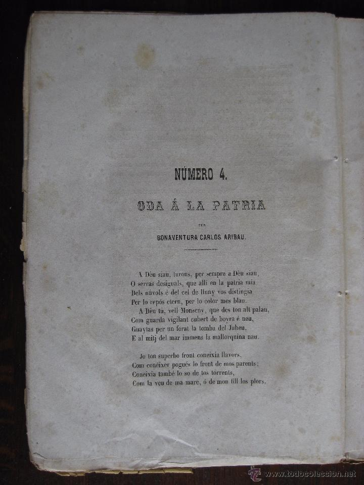 Libros antiguos: JOCHS FLORALS DE BARCELONA AÑO 5 DE LA RESTAURACIÓN 1863 - Foto 4 - 50728824
