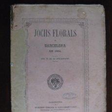 Libros antiguos: JOCHS FLORALS DE BARCELONA AÑO 6 DE LA RESTAURACIÓN 1864. Lote 50729138