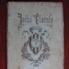 Libros antiguos: JOCHS FLORALS DE BARCELONA AÑO 31 DE LA RESTAURACIÓN 1889. Lote 50730806