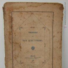 Libros antiguos: POESIAS DE DON JUAN VARELA. 1858. PRIMERA EDICION. Lote 51107286