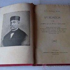 Libros antiguos: JOSEP LLUIS PONS GALLARZA - POESIES CATALANES - PALMA MALLORCA 1892. Lote 51123037