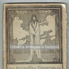 Libros antiguos: CASTRO, MANUEL DE. LAS ESTANCIAS ESPIRITUALES. VERSOS. MONTEVIDEO, 1919. . Lote 51472295