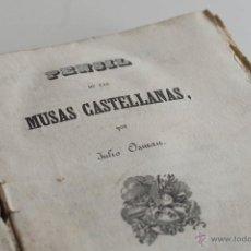 Livres anciens: PENSIL DE LAS MUSAS CASTELLANAS POR JULIO OSMAN 1841. Lote 51580226