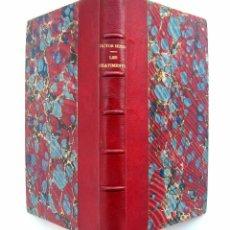 Libros antiguos: CA. 1890 - VICTOR HUGO - LES CHÂTIMENTS - POESÍA - ROMANTISCISMO - FRANCIA - ENCUADERNACIÓN. Lote 51933257
