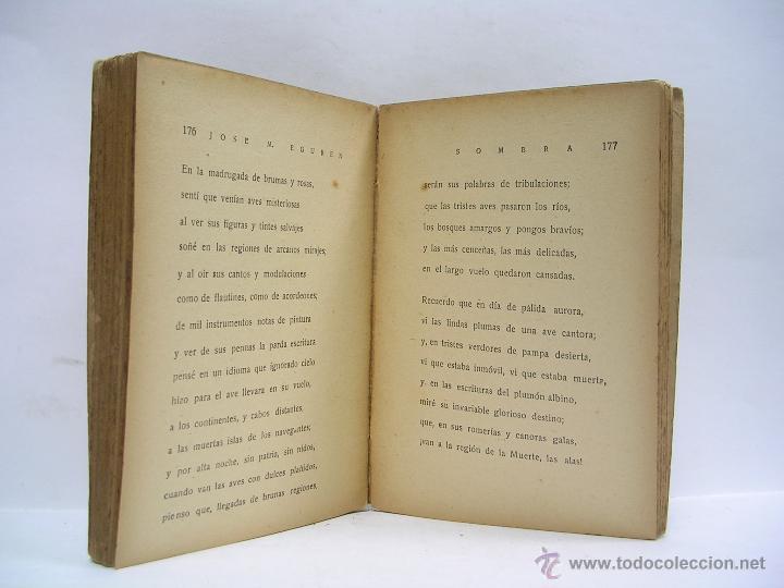 Libros antiguos: JOSÉ MARÍA EGUREN. POESÍAS. 1929. VANGUARDIAS. MUY RARO - Foto 2 - 52338719