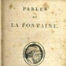 Libros antiguos: FABLES DE LA FONTAINE - PARIS, STÉRÉOTYPE D'HERHAN DE L'IMPRIMERIE DE A. BELIN, 1813. Lote 52391623