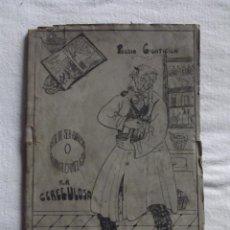 Libros antiguos: POESIA CIENTIFICA ARTE DE SER ANALISTA QUIMICA CAMELISTA POR ANTONIO SANCHEZ CARRILLO. Lote 52394259