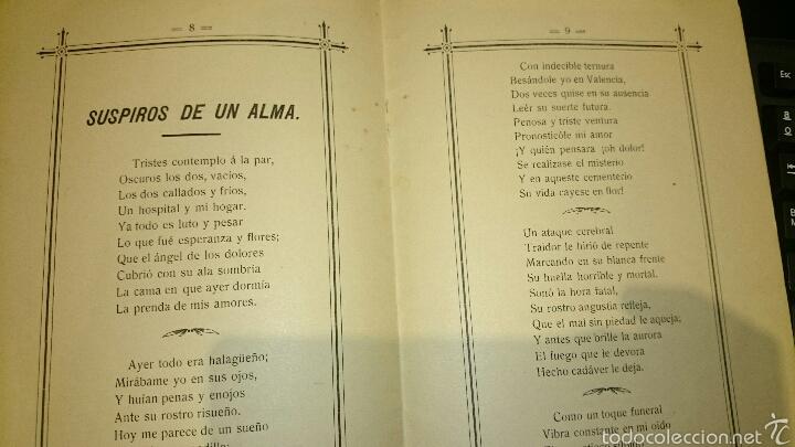 Libros antiguos: A LA MEMORIA DE MANUEL PASTOR ALTED, FALLECIDO EN 1904, RECUERDO DE UN HIJO, NOVELDA. ÚNICO!! - Foto 2 - 52665420