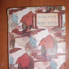 Libros antiguos: POEMAS SELECTOS DE ENRIQUE GONZALEZ MARTINEZ. BIBLIOTECA LILIPUT. P.P 1900. Lote 52969173