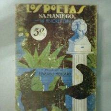 Libros antiguos: LOS POETAS SAMANIEGO SUS MEJORES FABULAS. Lote 53256087