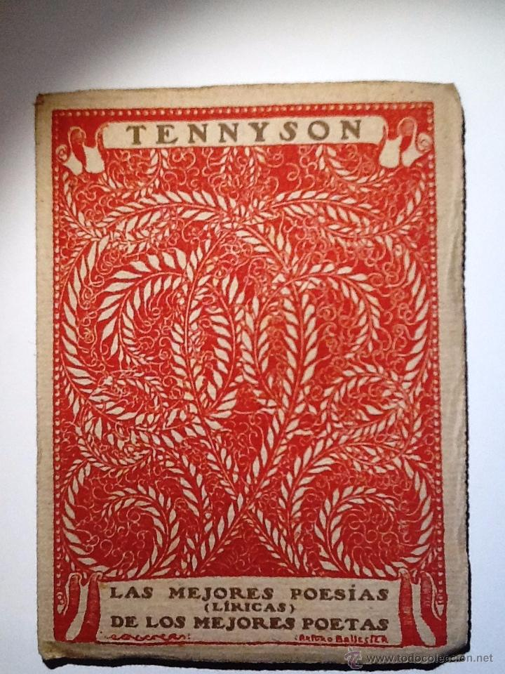 TENNYSON. INTONSO. LAS MEJORES POESIAS (LIRICAS) DE LOS MEJORES POETAS (Libros antiguos (hasta 1936), raros y curiosos - Literatura - Poesía)
