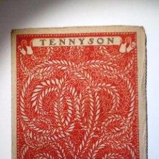 Libros antiguos: TENNYSON. INTONSO. LAS MEJORES POESIAS (LIRICAS) DE LOS MEJORES POETAS. Lote 54157860