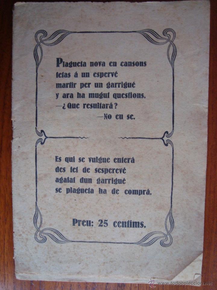 GLOSES DEN PEP PERELLÓ, GARRIGUER DE MARINA VEY. ALGAIDA. MALLORCA. 1927. (Libros antiguos (hasta 1936), raros y curiosos - Literatura - Poesía)