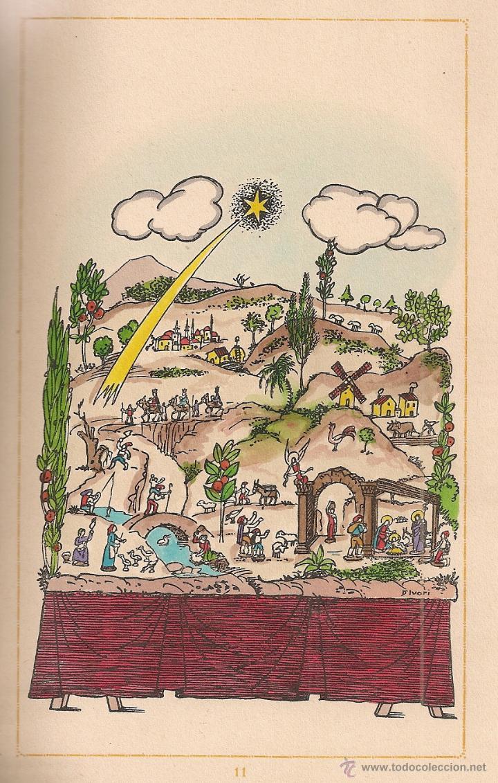 Libros antiguos: Nadal poema dramatic / J.M. Ribes Monfar, il. D' Ivori, prol.T. Roig i Llop. BCN, 1936. 20x13cm. 72p - Foto 3 - 54438862
