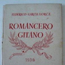 Libros antiguos: FEDERICO GARCIA LORCA ROMANCERO GITANO NUESTRO PUEBLO 1938 . Lote 54881378