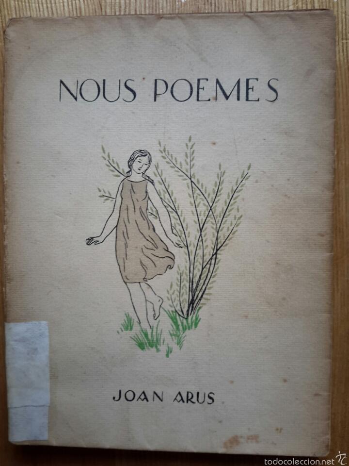 JOAN ARÚS. NOUS POEMES. SABADELL, 1924. CASTELLAR DEL VALLÈS (Libros antiguos (hasta 1936), raros y curiosos - Literatura - Poesía)